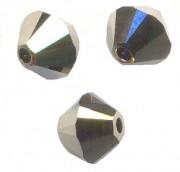 TOUPIES SWAROVSKI® ELEMENTS  6 mm   CRYSTAL METALLIC LIGHT GOLD AB2X  X 20 perles