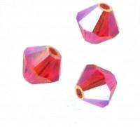 TOUPIES SWAROVSKI® ELEMENTS  6 mm   HYACINTH AB2X  X 20 perles