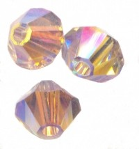 TOUPIES SWAROVSKI® ELEMENTS  6 mm   LIGHT AMETHYST AB2X  X 20 perles
