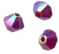 TOUPIES SWAROVSKI® ELEMENTS  6 mm   SIAM AB2X  X 20 perles