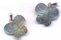 Breloques papillon 20 x 15 X 2