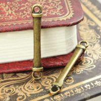 Connecteurs Couleur Bronze Antique 31x4.5mm  X 5
