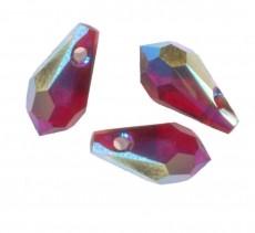 GOUTTES SWAROVSKI® ELEMENTS ( 6000 ) 11 X 5.5 SIAM AB Qte: 6