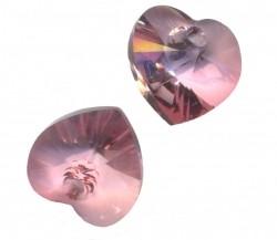COEURS SWAROVSKI® ELEMENTS 10.3 X 10 CRYSTAL ANTIQUE PINK X 6