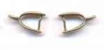 Belieres bronze 11 mm x 7 mm qte : 6