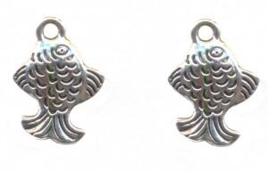 Breloques poisson 18 x 10 Qte : 2