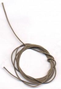 Coton ciré Ø 1 mm Couleur : marron clair 1 metre