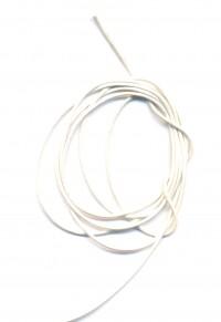 Coton ciré Ø 1 mm Couleur : blanc 1 metre