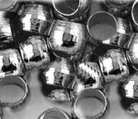 Perles à écraser Couleur Noir 2mm <br /> Qte : 100