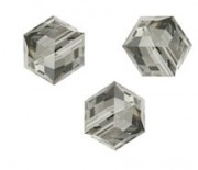 Perles cubes Swarovski 4 mm ( 5601 )