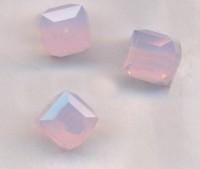 Perles cubes Swarovski 6 mm ( 5601 ) Violet opal X 1