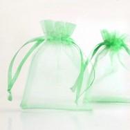 Pochettes Sac Organza  Vert Mariage Cadeau 70 x 90 X 5