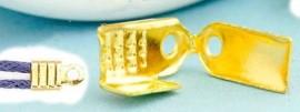 Embouts pince Doré 10x9mm Qte : 10