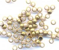 Intercalaires,perles à écraser cuivre diamètre 2.5 mm<br /> Qte : 100