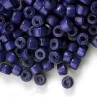 1400 Perles en bois Donut violet 3x4mm taille du trou = 1.4 mm