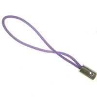 Attaches cordons Dragonnes Violet pr portable 50mm  Qte : 2