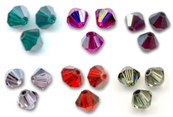 Toupies  4 mm SATIN  SWAROVSKI® ELEMENTS