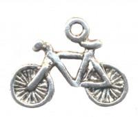 Breloques  Bicyclette en Argent Tibétain 16x13.5mm  X 20