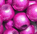 Perles Magiques Miracles Rondes 4mm ROSE FUSCHIA X 20