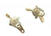 Fermoirs mousquetons Attaches de Collier Bracelet dore  15 x 8  X 30