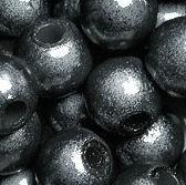 Perles Magiques Miracles Rondes  10mm NOIR X 5