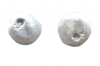 BRELOQUES MEDAILLE ARGENT 13 mm  X 2