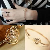 Bracelet 6 cm rose 1.3 x 1.8 cm X 1