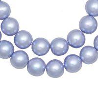 Perles Nacrées Rondes Violet Lavande 8mm X 25