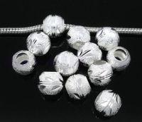 Perles Dépolies  10mm....taille du trou = 5 mm X 10