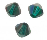 TOUPIES SWAROVSKI® ELEMENTS 5MM EMERALD SATIN