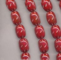 Perles resine ovales 30 x 17 mm