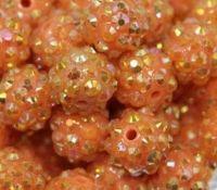 Perles  résine  10x8mm X 10