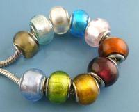 Mixte Perles Lampwork Verre  10x14mm X 10