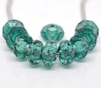 Perles Acrylique Facettes  15x8mm X 10
