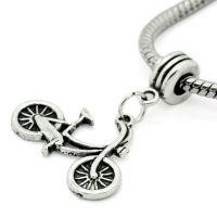 Pendentifs  Bicyclette  3.5x2.6cm  X 5