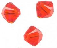 Toupies en crystal 4 mm Hyacinth X 100