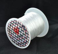 Rouleau de Fil elastique pour Bijoux Création 0.8mm  X 25 metres ( deconditionne )