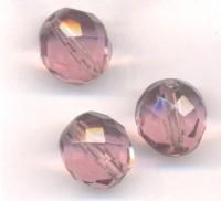 Facettes de boheme 12 mm Light amethyst X 5