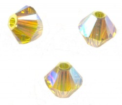TOUPIES SWAROVSKI® ELEMENTS 4 mm LIME AB2X/ 50