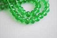 Perles crystal 2 x 3 mm vert emerald X 200