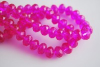 Perles cristal 3 x 4 mm