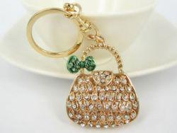 Sac ( anneau + pince accroche sac , ceinture ) 4.5 x 4.5  cm