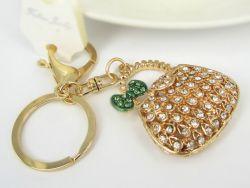 Sac  (anneau + pince accroche sac , ceinture) 4.5 x 4.5 cm