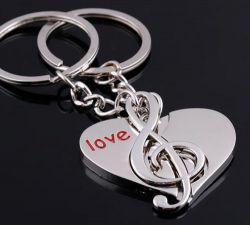 Porte cles charm Love, les 2
