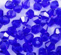 Toupies en crystal 3 mm Sapphire X 200