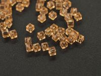 Cubes en crystal  Light gold