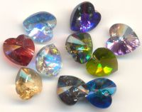 Perles  Coeurs SWAROVSKI  ( 6228 )