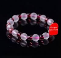 Bracelet crystal diamètre perles 8 et 6 mm 25 Perles