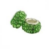 Perles Lampwork , perles de Murano et argent 925 silver 10 et trou 5 mm X 10