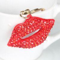 Bouche ( anneau + pince accroche sac , ceinture ) 4 x 2.4 cm